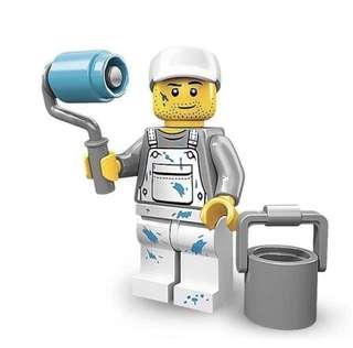Lego 71001 Minifigures Series 10 Decorator