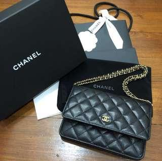 FAST SALE! authentic classic chanel woc