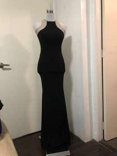 FOR RENT: Sexy Black See Through Gown