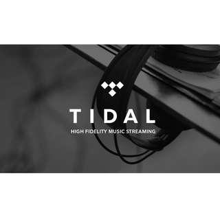 Tidal HiFi Package 1 Month Package