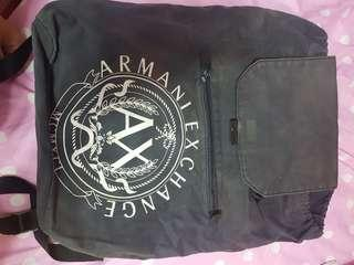 Authentic Armani Exchange Backpack