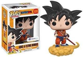 LF/ ISO Goku On Nimbus Cloud (Orange)