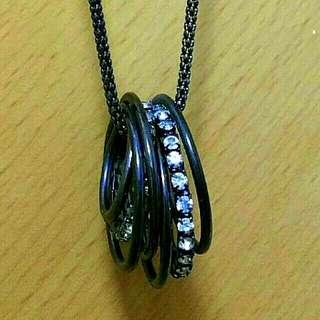 2-layers Necklace/Pendant for ladies