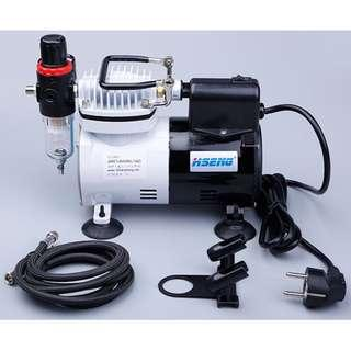 [INSTOCK ]Professional Air Compressor Set with 0.3 Airbrush