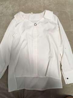 White Blouse korean style