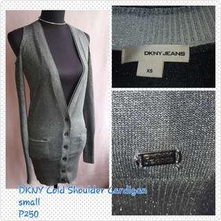 DKNY Cold Shoulder Cardigan