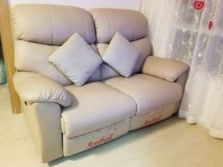 Anibull Sofa 安利寶-黃牛皮全電動鉸梳化