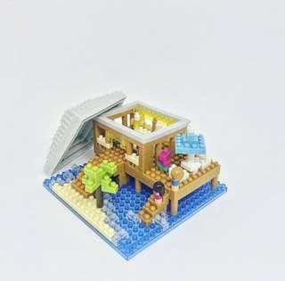 Nanoblock Japan NBI_002 Resort Cottage