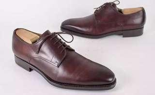 Magnanni Leather shoes Oxford Burgundy 9.5