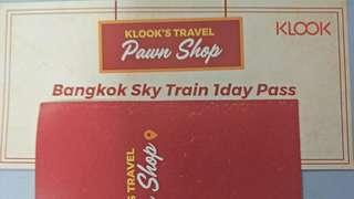 Klook Bangkok BTS Skytrain One-day Pass