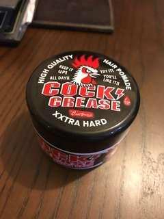 Cock crease Hair Pomade (gel) Xtra Hard