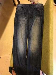 GU 男 31size 牛仔褲
