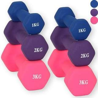 Dumbbell sports core yoga gym fitness different range and workout