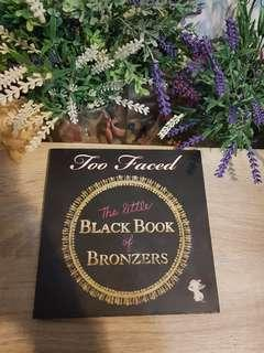 Preloved too face the little black book
