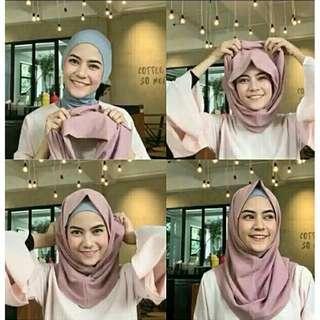 Hijab instan/ kerudung instan