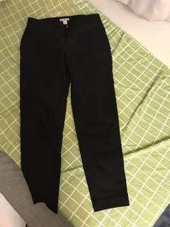 黑色長褲H&M