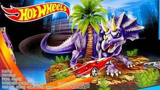 Dino Spin out track set - Hot wheels