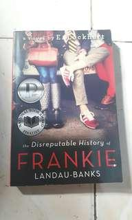 Signed Copy The Disreputable History of Frankie Landau-Banks by E. Lockhart
