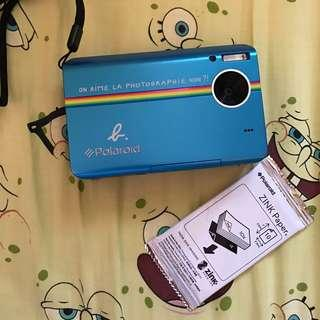 Polaroid x agnes b limited collection instant camera classic blue