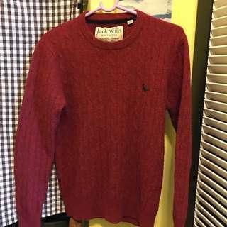 Jack wills knitwear 100% merino wool