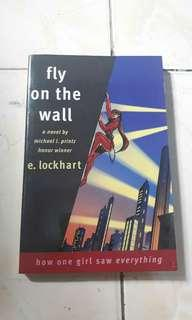 Signed Copy Fly On The Wall by E. Lockhart