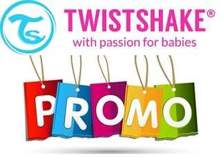 Twistshake Special DISCOUNT P50 P75 P100 OFF in all bottle collections
