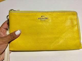 💯Authentic Coach Wallet