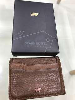 Braun Buffel Cardholder
