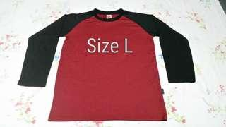 Red Cool-fit Long Sleeve T Shirt