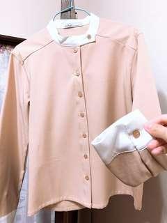 🚚 韓系氣質雪紡上衣