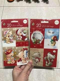 Brand New 20 Cute Christmas Gift Tags