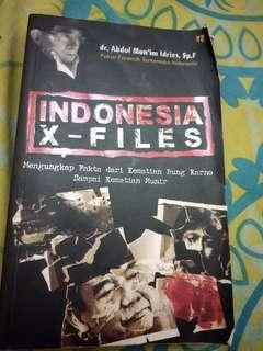 buku indonesia x files