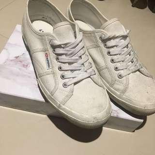 🚚 Superga 男43 2750 小白鞋 帆布鞋 百搭白鞋