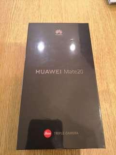 Huawei mate 20 Black. Brand New. Price reduced.