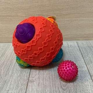 🚚 近全新 Btoys B.Toys波麗觸覺感統球