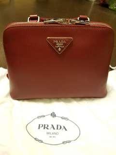 Prada背包 made in Italy