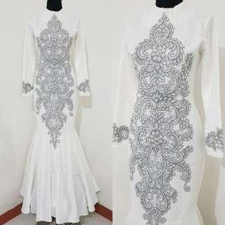 Mermaid Dress Ala Cheongsam