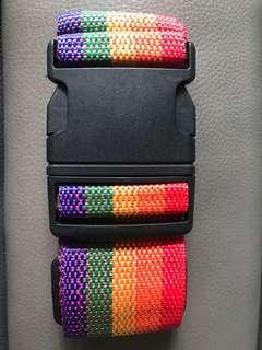 Luggage strap - rainbow
