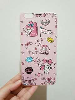 Case casing iphone 6s+ pink my melody sanrio