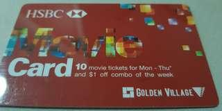 8 movie tickets to Monday - Thursday at Golden Village