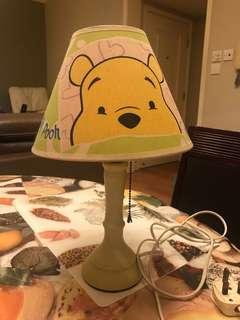 Winnie the Pooh 枱燈 lamp