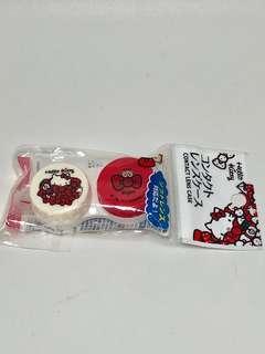 Hello Kitty Ori contact Lens case lensa tempat contact