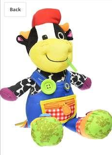 Lamaze Dressed Up Cow - Farmer Fred