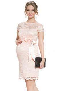 Mayarya Short Sleeve Lace Maternity Dress 短䄂蕾絲孕婦裙 無懷孕都啱著