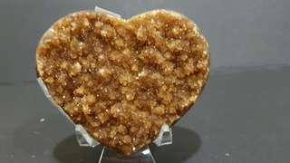 Citrine Heart