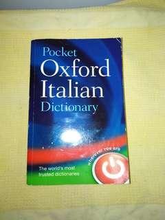 Oxford Italian-English Dictionary