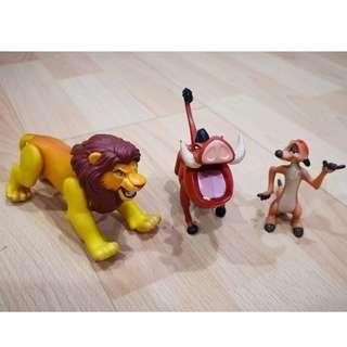 Mcdonalds Happy Meal Disney Lion King Toys
