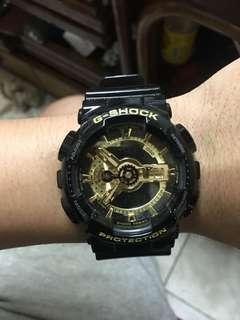 🚚 G-SHOCK黑金電子錶(卡西歐caslo)