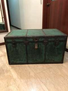 Antique Shanghai wooden chest