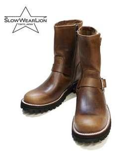 Horween chromexcel full leather boots